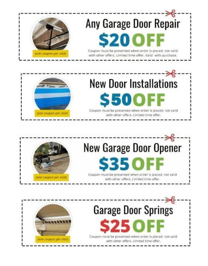 door repair coupon